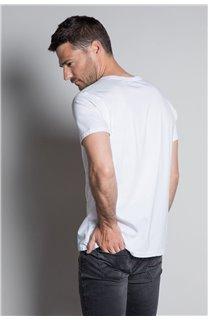 T-Shirt T-SHIRT LANDY Homme W20142M (55466) - DEELUXE