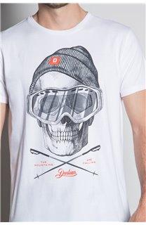 T-Shirt T-SHIRT LANDY Homme W20142M (55467) - DEELUXE
