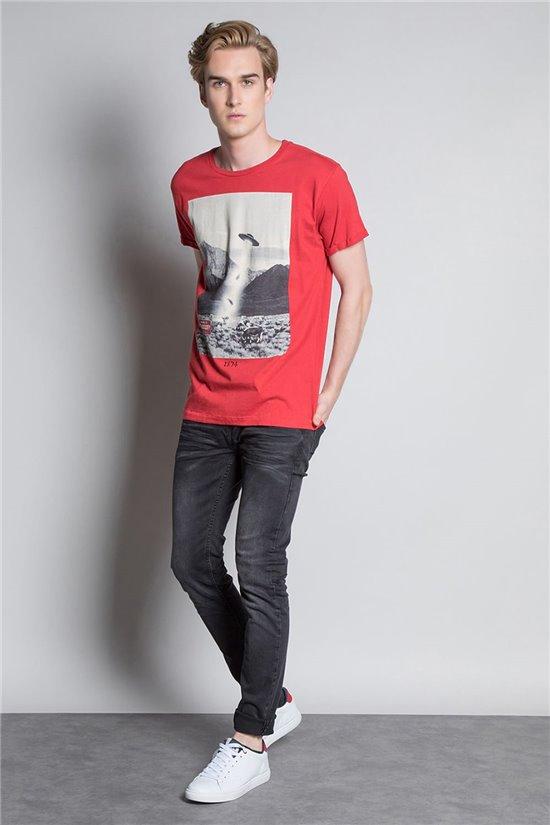 T-Shirt T-SHIRT EXTRA Homme W20138M (55543) - DEELUXE