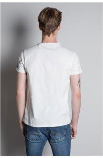 T-Shirt TELLSON Homme W20156M (55576) - DEELUXE