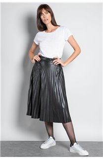 T-Shirt T-SHIRT GLITTER Femme W20118W (55670) - DEELUXE