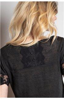 T-Shirt T-SHIRT DIVINE Femme W20122W (55694) - DEELUXE
