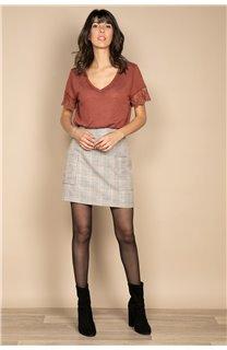 T-Shirt T-SHIRT DIVINE Femme W20122W (55697) - DEELUXE