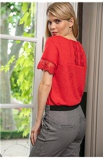 T-Shirt T-SHIRT DIVINE Femme W20122W (55701) - DEELUXE