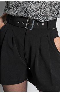 Short SHORT LISIANE Femme W20703W (55709) - DEELUXE