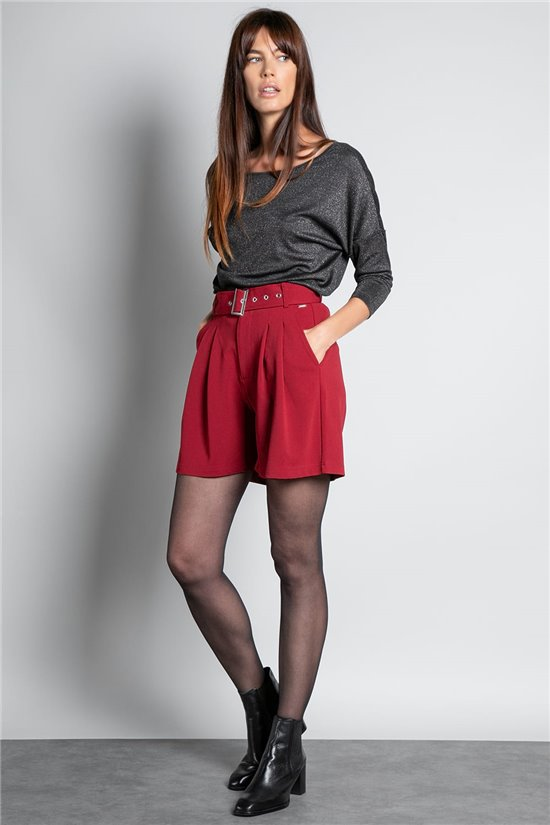 Short LISIANE Femme W20703W (55705) - DEELUXE