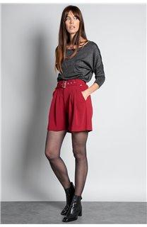 Short SHORT LISIANE Femme W20703W (55711) - DEELUXE