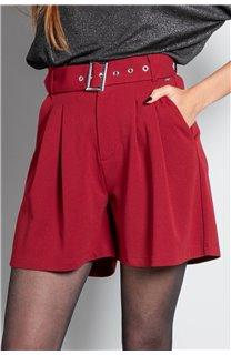 Short SHORT LISIANE Femme W20703W (55714) - DEELUXE