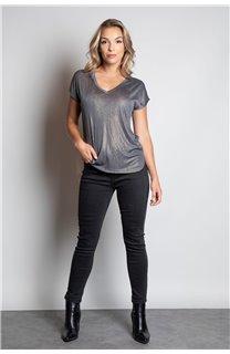 T-Shirt T-SHIRT BELI Femme W20108W (55741) - DEELUXE
