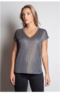 T-Shirt T-SHIRT BELI Femme W20108W (55742) - DEELUXE