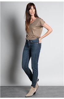 T-Shirt T-SHIRT BELI Femme W20108W (55746) - DEELUXE