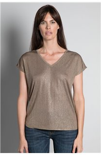 T-Shirt T-SHIRT BELI Femme W20108W (55747) - DEELUXE