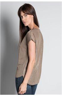 T-Shirt T-SHIRT BELI Femme W20108W (55748) - DEELUXE
