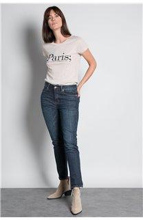 T-Shirt T-SHIRT PARIS Femme W20117W (55811) - DEELUXE