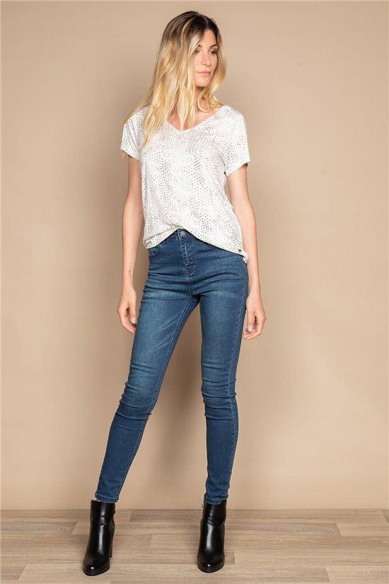 T-Shirt T-SHIRT LORIA Femme W20101W (55820) - DEELUXE