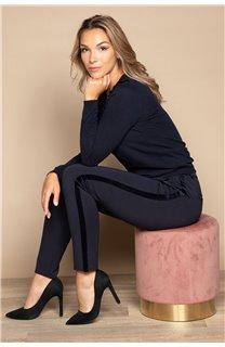 Pantalon PANTALON HONORA Femme W20736W (55830) - DEELUXE