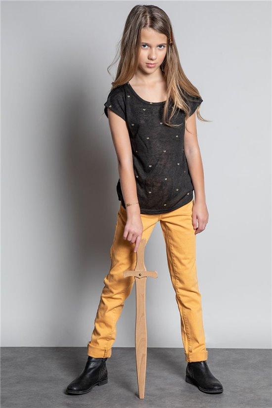 T-Shirt T-SHIRT LOVELY Fille W20123G (55861) - DEELUXE