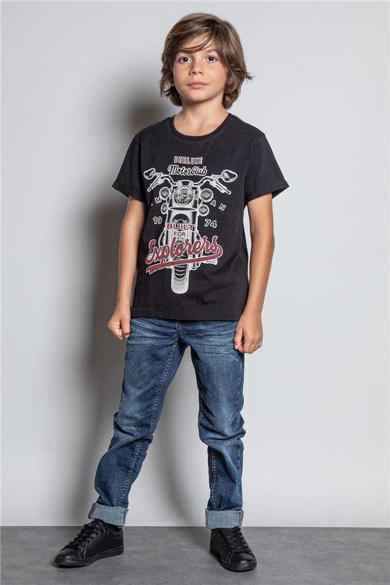 T-Shirt T-SHIRT ENGINE Garçon W20175B (56194) - DEELUXE