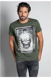 T-Shirt CRYSTAL Homme W20184M (56222) - DEELUXE