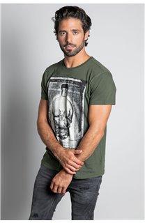 T-Shirt CRYSTAL Homme W20184M (56223) - DEELUXE