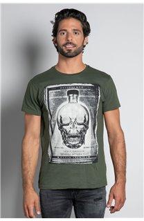 T-Shirt CRYSTAL Homme W20184M (56224) - DEELUXE