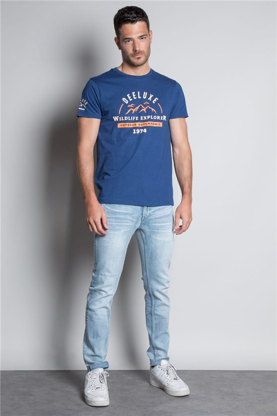 T-Shirt TIGNES Homme W20128M (56262) - DEELUXE
