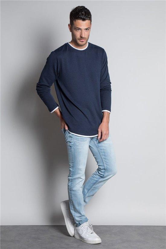 T-Shirt T-SHIRT HANSONER Homme W20174M (56317) - DEELUXE