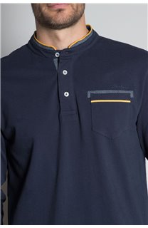 Polo POLO FJORD Homme W20203M (56366) - DEELUXE