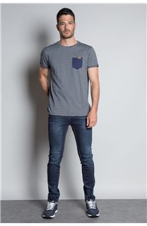 T-Shirt T-SHIRT EARLY Homme W20155M (56382) - DEELUXE