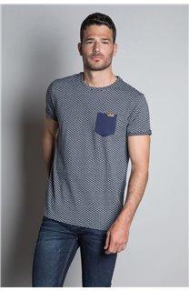 T-Shirt T-SHIRT EARLY Homme W20155M (56383) - DEELUXE