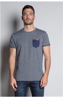 T-Shirt T-SHIRT EARLY Homme W20155M (56384) - DEELUXE