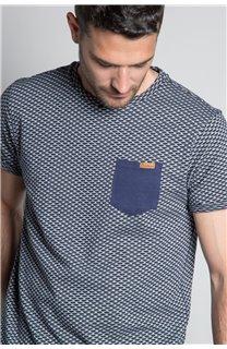 T-Shirt T-SHIRT EARLY Homme W20155M (56386) - DEELUXE