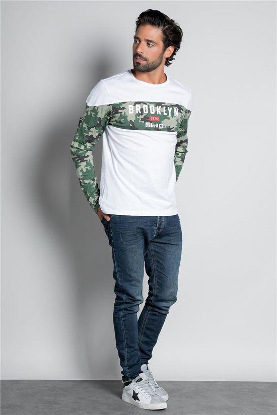 T-Shirt BROOK Homme W20132M (56577) - DEELUXE