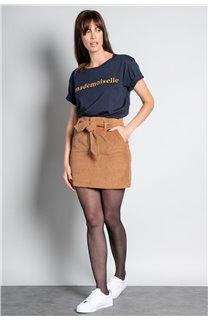 T-Shirt T-SHIRT MISS Femme W20120W (56658) - DEELUXE