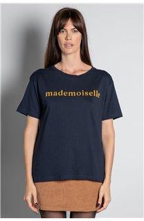 T-Shirt T-SHIRT MISS Femme W20120W (56659) - DEELUXE