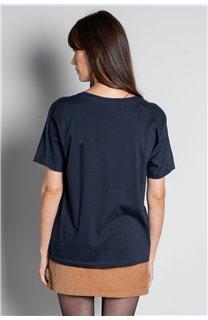 T-Shirt T-SHIRT MISS Femme W20120W (56660) - DEELUXE