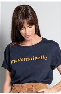 T-Shirt T-SHIRT MISS Femme W20120W (56661) - DEELUXE