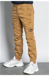 Pantalon PANTALON GARDEN Garçon W207017B (56683) - DEELUXE