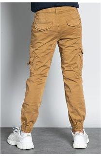 Pantalon PANTALON GARDEN Garçon W207017B (56684) - DEELUXE