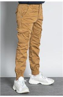 Pantalon PANTALON GARDEN Garçon W207017B (56685) - DEELUXE