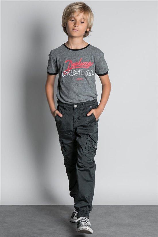 Pantalon PANTALON GARDEN Garçon W207017B (56696) - DEELUXE