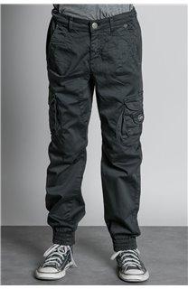 Pantalon PANTALON GARDEN Garçon W207017B (56688) - DEELUXE