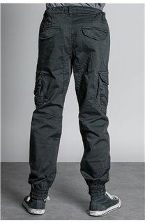 Pantalon PANTALON GARDEN Garçon W207017B (56689) - DEELUXE