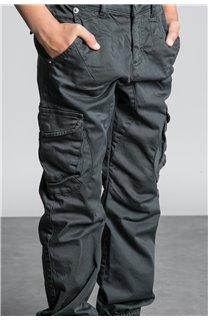 Pantalon PANTALON GARDEN Garçon W207017B (56690) - DEELUXE
