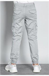 Pantalon PANTALON GARDEN Garçon W207017B (56694) - DEELUXE