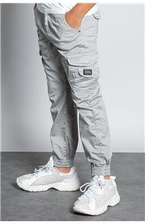 Pantalon PANTALON GARDEN Garçon W207017B (56695) - DEELUXE