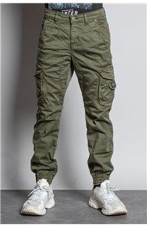 Pantalon PANTALON GARDEN Garçon W207017B (56698) - DEELUXE