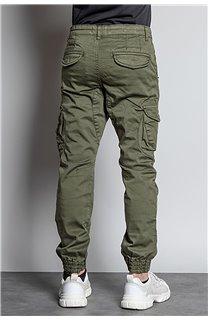 Pantalon PANTALON GARDEN Garçon W207017B (56699) - DEELUXE