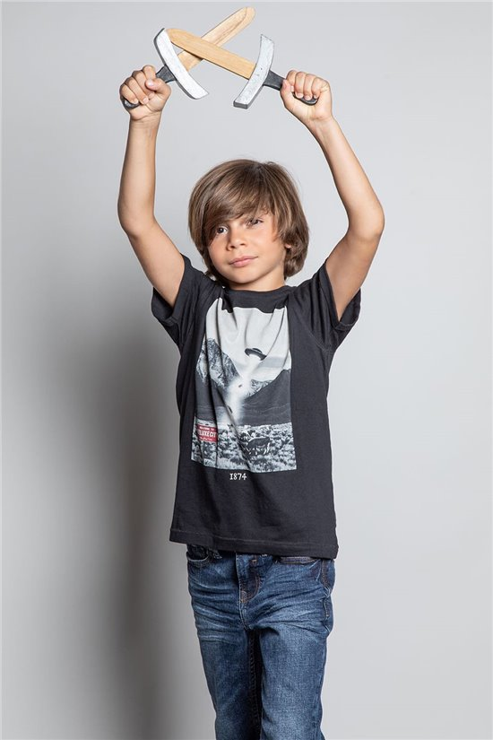 T-Shirt T-SHIRT EXTRA Garçon W20138B (56751) - DEELUXE
