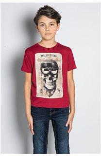 T-Shirt CLEM Garçon W20196B (56766) - DEELUXE